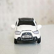 Сувениры и подарки ручной работы. Ярмарка Мастеров - ручная работа миниатюра Mitsubishi asx. Handmade.