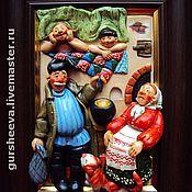 """Картины и панно ручной работы. Ярмарка Мастеров - ручная работа """"Удачный улов"""". Handmade."""