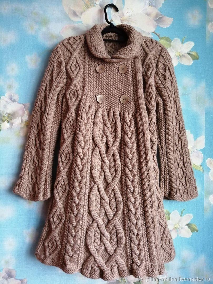 Clothes for Girls handmade. Livemaster - handmade. Buy Coat knitted based on 'Elizabeth' Ralph Lauren.Gift