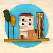 Картины и панно handmade. Livemaster - original item Wall mural