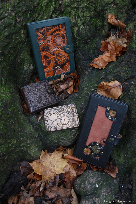 Блокнот в стиле стимпанк, Блокноты, Калининград,  Фото №1