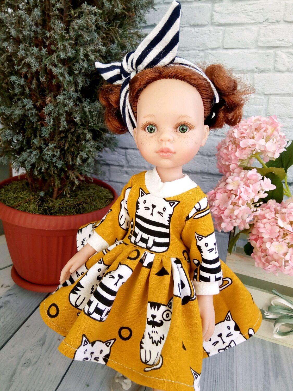 Платье+повязка для Паола Рейна, Одежда для кукол, Самара,  Фото №1