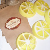 """Косметика ручной работы. Ярмарка Мастеров - ручная работа Мыло """"Лимонное настроение"""". Handmade."""