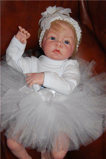 Куклы-младенцы и reborn ручной работы. Ярмарка Мастеров - ручная работа. Купить Балеринка Александра. Handmade. Кукла, подарок
