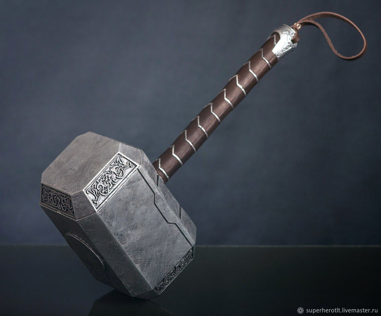 mjollnir hammer of thor marvel thor 3 ragnarok shop online on livemaster with shipping