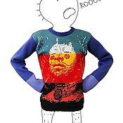 """Одежда ручной работы. Ярмарка Мастеров - ручная работа Свитер """"Шаман"""". Handmade."""