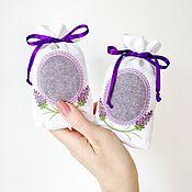 Сувениры и подарки handmade. Livemaster - original item sachet embroidered with lavender
