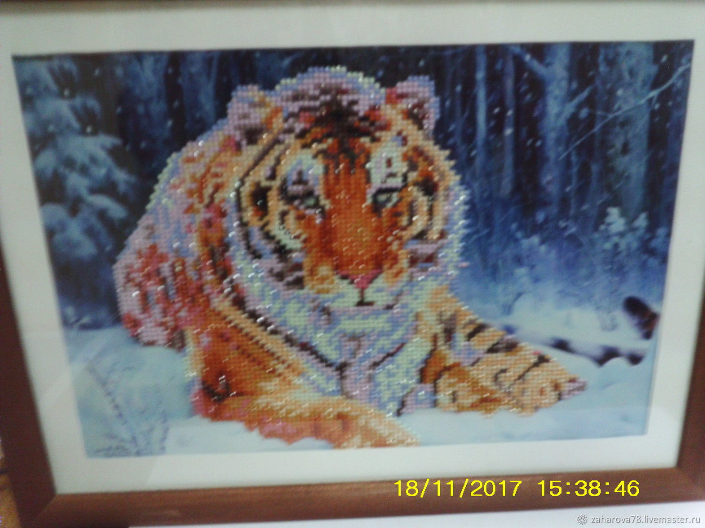 Тигр, Картины, Горнозаводск, Фото №1
