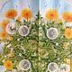 Одуванчики в цвету (салфетка для декупажа)  Декупажная радость