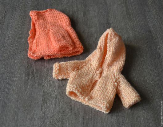 Одежда для кукол ручной работы. Ярмарка Мастеров - ручная работа. Купить Кофта  с капюшоном для куклы в ассортименте. Handmade. Кофта