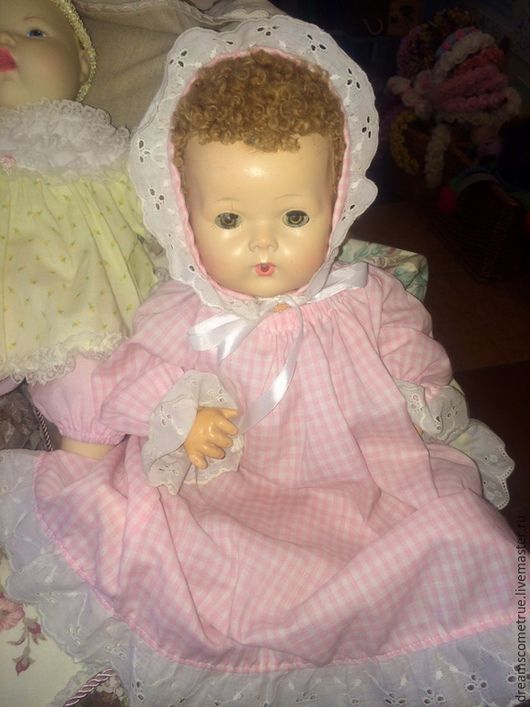 Винтажные куклы и игрушки. Ярмарка Мастеров - ручная работа. Купить Кукла Dy-dee Baby 40-х гг. Handmade.