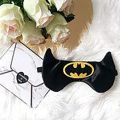 """Одежда ручной работы. Ярмарка Мастеров - ручная работа Маска для сна """"Бэтмен"""". Handmade."""