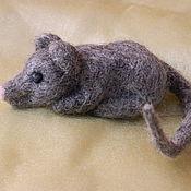 """Куклы и игрушки ручной работы. Ярмарка Мастеров - ручная работа Игрушка """"Мышка Норушка"""". Handmade."""