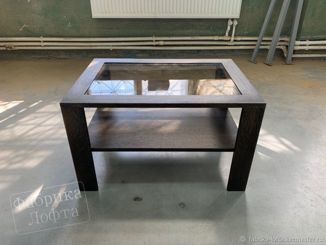 Coffee table made of oak 1200h700 mm, Tables, Moscow,  Фото №1