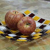 """Посуда ручной работы. Ярмарка Мастеров - ручная работа Тарелка в технике """"Фьюзинг"""". Handmade."""