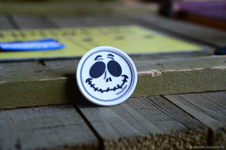 Jack Halloween ПВХ нашивка с липучкой, Украшения, Москва, Фото №1