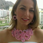 Оксана Хёнгюль - вязаная бижутерия - Ярмарка Мастеров - ручная работа, handmade