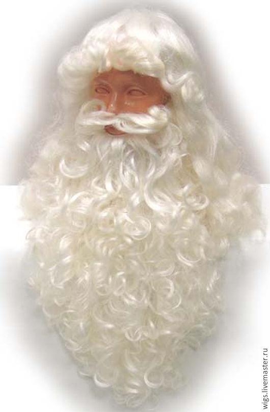 Ролевые игры ручной работы. Ярмарка Мастеров - ручная работа. Купить парик Санта-Клаус 39. Handmade. Блондинка, Брюнетка
