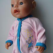 Куклы и игрушки ручной работы. Ярмарка Мастеров - ручная работа Комбинезоны для пупса беби бон. Handmade.