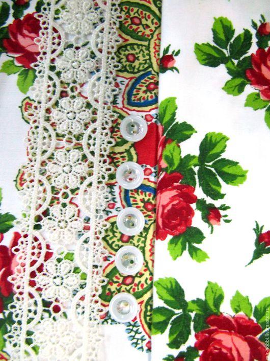 """Шитье ручной работы. Ярмарка Мастеров - ручная работа. Купить Набор для творчества """"Розы на снегу"""". Handmade. Белый, сатин"""