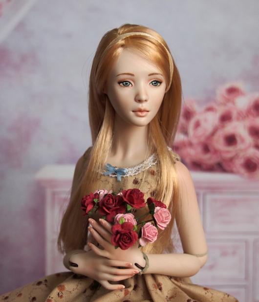 Коллекционные куклы ручной работы. Ярмарка Мастеров - ручная работа. Купить Аглая. JRDolls. Авторская фарфоровая шарнирная кукла. Handmade.