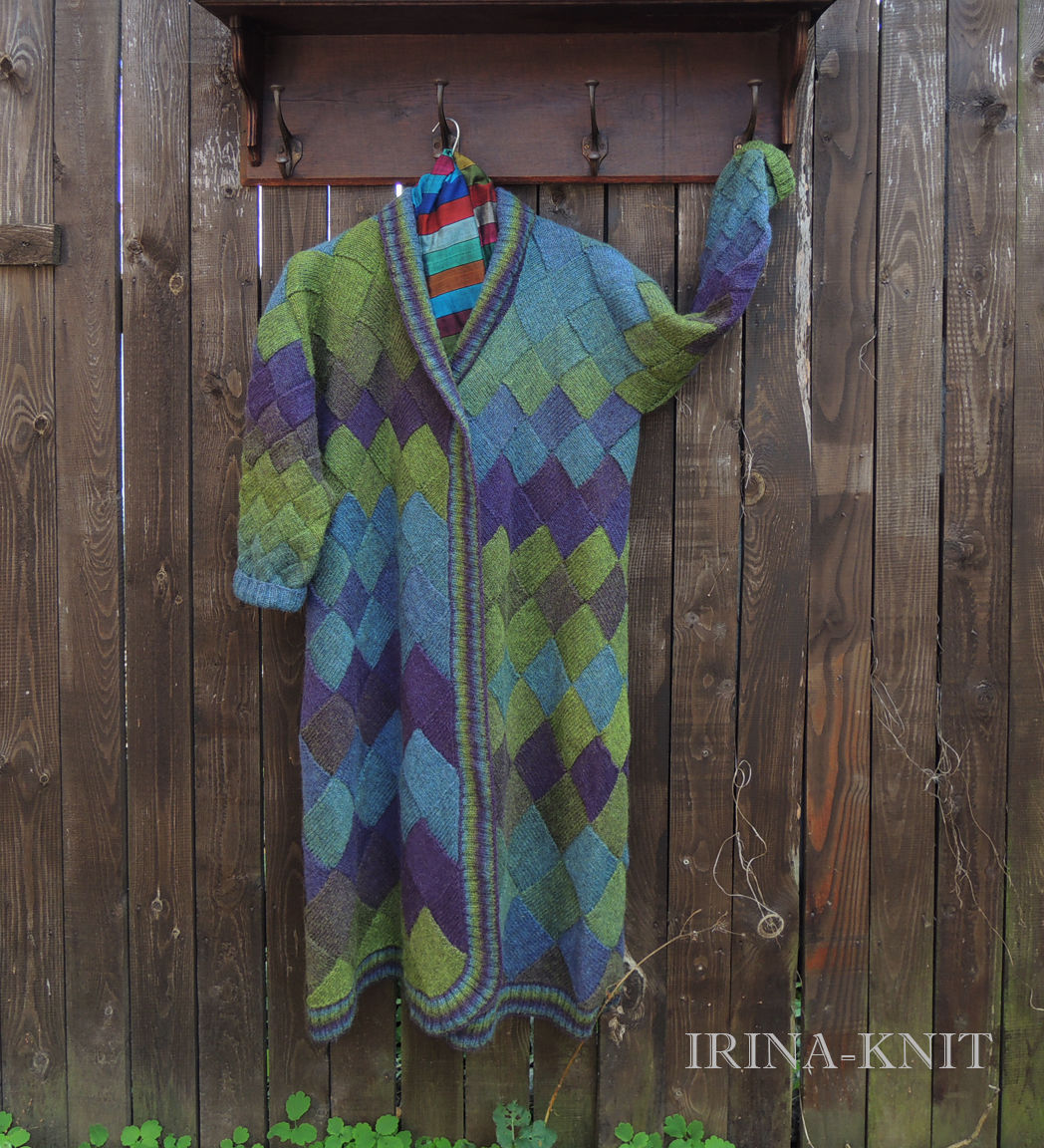 Пальто вязаное купить
