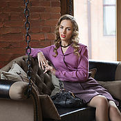 Одежда handmade. Livemaster - original item Blouse with collar and lapel
