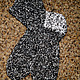 Носки, Чулки ручной работы. Ярмарка Мастеров - ручная работа. Купить Носки шерстяные2. Handmade. Чёрно-белый, носки вязаные