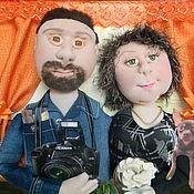 Куклы и игрушки ручной работы. Ярмарка Мастеров - ручная работа Подарок друзьям - куклы по фото. Handmade.