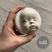 Материалы для творчества handmade. Livemaster - original item Mold M10 (form for making the face). Handmade.