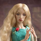 Куклы и игрушки ручной работы. Ярмарка Мастеров - ручная работа Аделина, шарнирная фарфоровая кукла. Handmade.