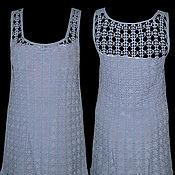 Одежда ручной работы. Ярмарка Мастеров - ручная работа Платье сиреневое. Handmade.