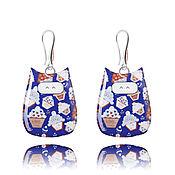 Украшения handmade. Livemaster - original item Bright earrings