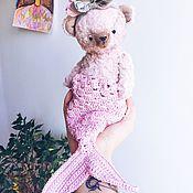 Куклы и игрушки ручной работы. Ярмарка Мастеров - ручная работа Коллекционный мишка тедди Русалочка. :). Handmade.