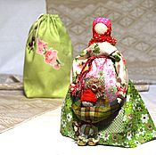 """Куклы и игрушки ручной работы. Ярмарка Мастеров - ручная работа Народная кукла """"Ягодка"""", куклы-обереги,славянские обереги. Handmade."""
