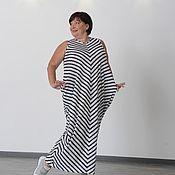 Одежда handmade. Livemaster - original item Dress-rhombus sleeveless