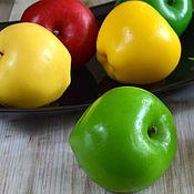 "Косметика ручной работы handmade. Livemaster - original item Soap ""Apple"". Handmade."