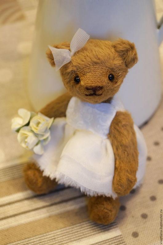 Мишки Тедди ручной работы. Ярмарка Мастеров - ручная работа. Купить Малышка Эмма. Handmade. Коричневый, мишка в подарок