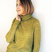 Одежда ручной работы. Ярмарка Мастеров - ручная работа Водолазка мохеровая Lana Grossa. Handmade.