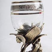 Посуда handmade. Livemaster - original item Shot glass