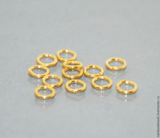 колечки соединительные; колечки соединительные серебро 925 пробы; колечки соединительные вермейль; кольца соединительные; соединительные кольца