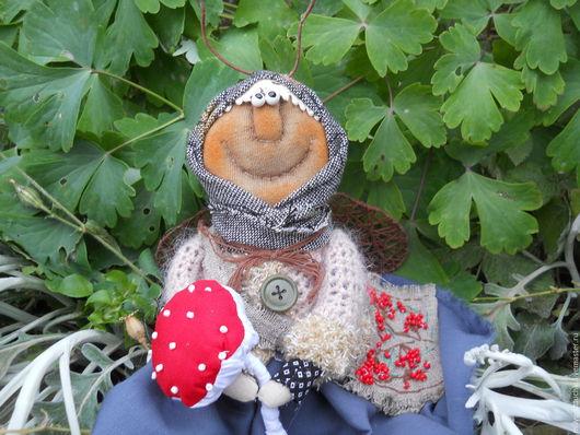 Ароматизированные куклы ручной работы. Ярмарка Мастеров - ручная работа. Купить Муха...шла...шла.... Handmade. Комбинированный, осень, синтепон