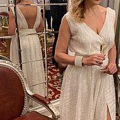 Платья ручной работы. Ярмарка Мастеров - ручная работа Вечернее платье с пайетками. Handmade.
