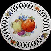 Винтаж handmade. Livemaster - original item Vintage dessert plates