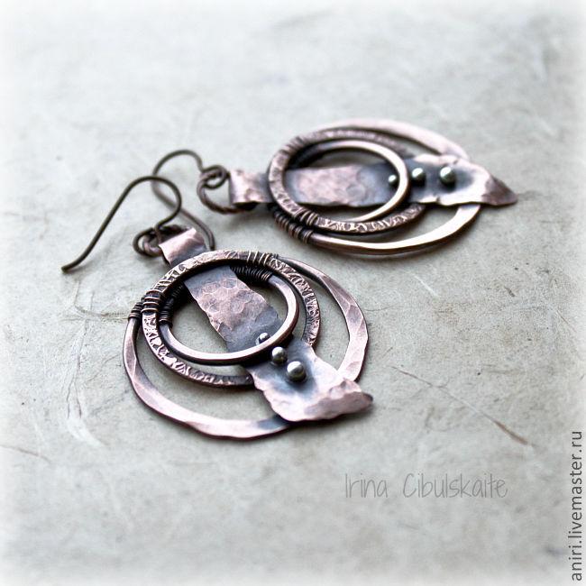Earrings in ethno style, Earrings, Tallinn,  Фото №1