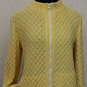 Одежда ручной работы. Ярмарка Мастеров - ручная работа Бомбер ванильного цвета. Handmade.