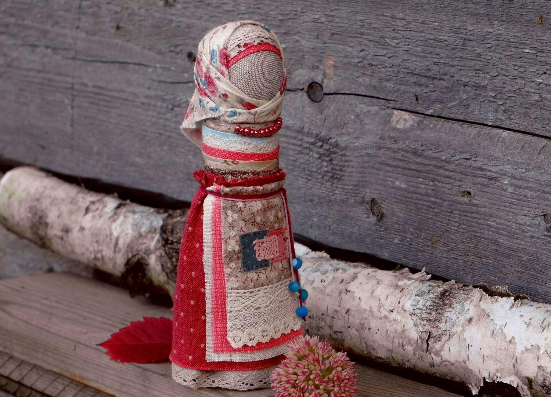 Кукла оберег на счастливое замужество Роза в незабудках, Народная кукла, Новокузнецк,  Фото №1