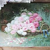 """Картины и панно ручной работы. Ярмарка Мастеров - ручная работа картина """"в саду"""". Handmade."""