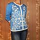 """Кофты и свитера ручной работы. Вязаный джемпер """"Цветы"""". IRINA--handmade. Интернет-магазин Ярмарка Мастеров. Цветочный"""