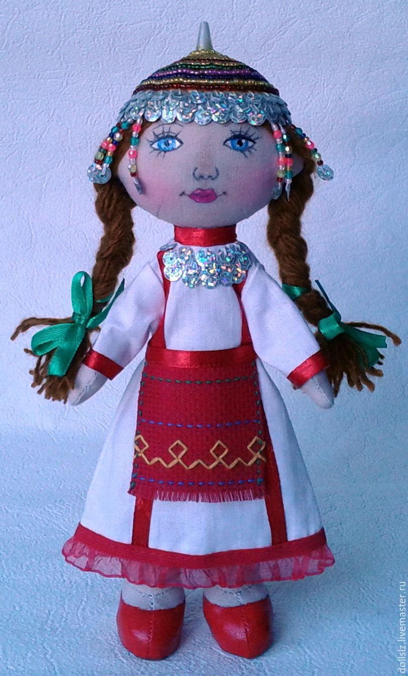 Чувашский народный костюм своими руками 92